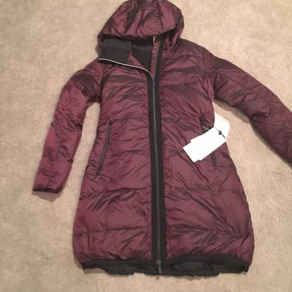 36f959d38 Lululemon cloudscape Long jacket Sz 4